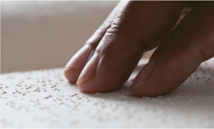 Facture en braille accessible aux non-voyants et aux malvoyants